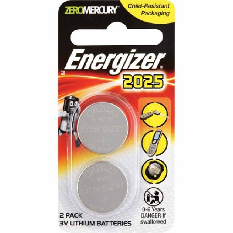 Energizer Specialty Lithium Battery - 2025, 2 PACK