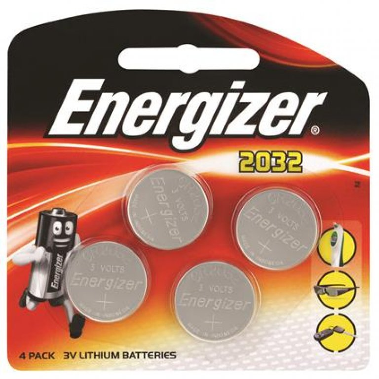 Energizer Specialty Lithium Battery - 2032, 4 PACK