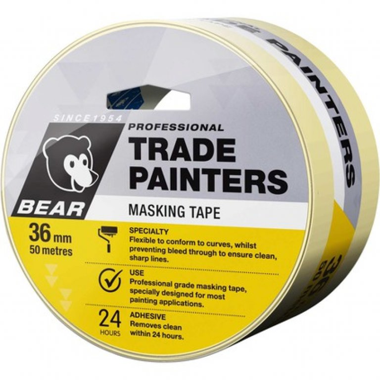 Norton Trade Painters Masking TAPE - 36MM X 50M