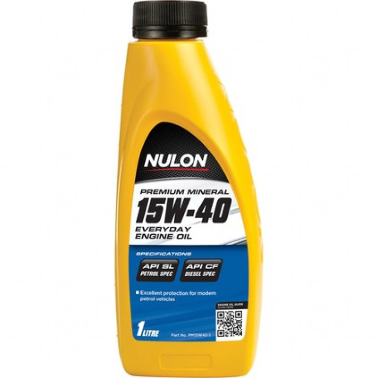 Nulon SEMI Synthetic Modern Everyday Engine Oil - 15W-40 1 Litre