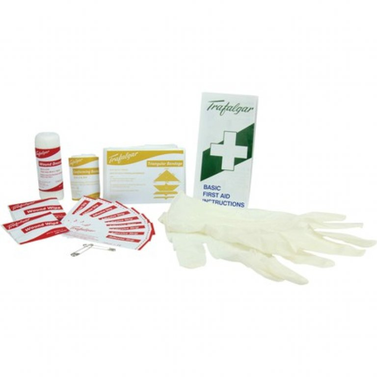 Personal First AID Kit - 62 Piece