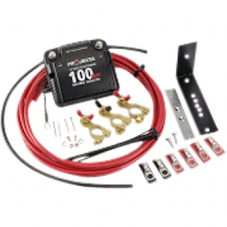 Projecta Dual Battery Isolator Kit - 12 VOLT