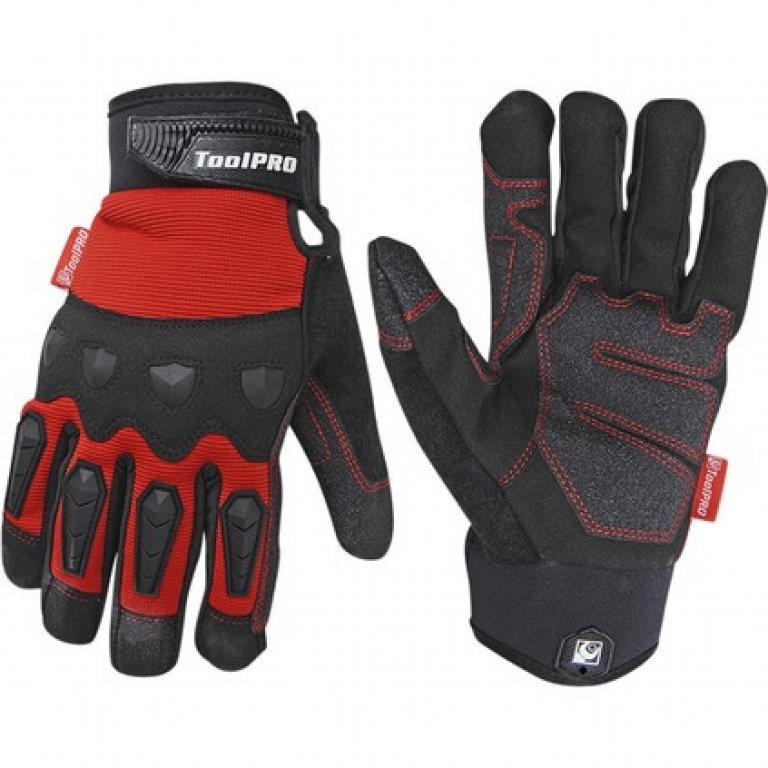 Toolpro Work Gloves - Light Weight, Large