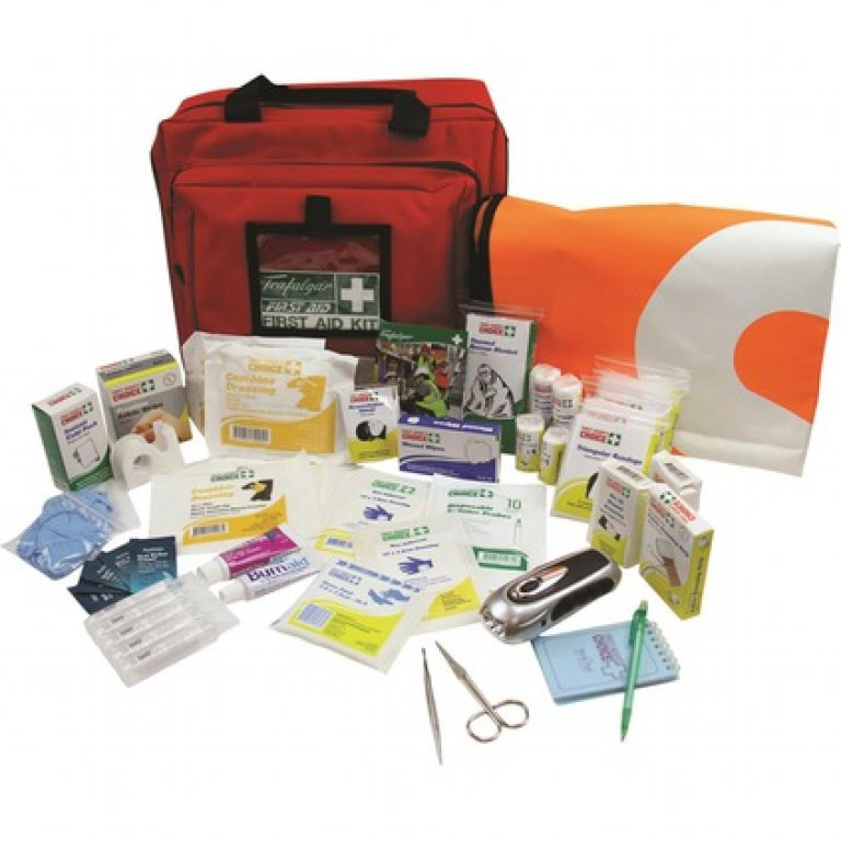 Trafalgar Caravan and Camping First AID Kit - 121 Pieces