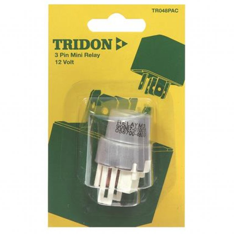 Tridon Mini Relay - 22 AMP, 3 PIN