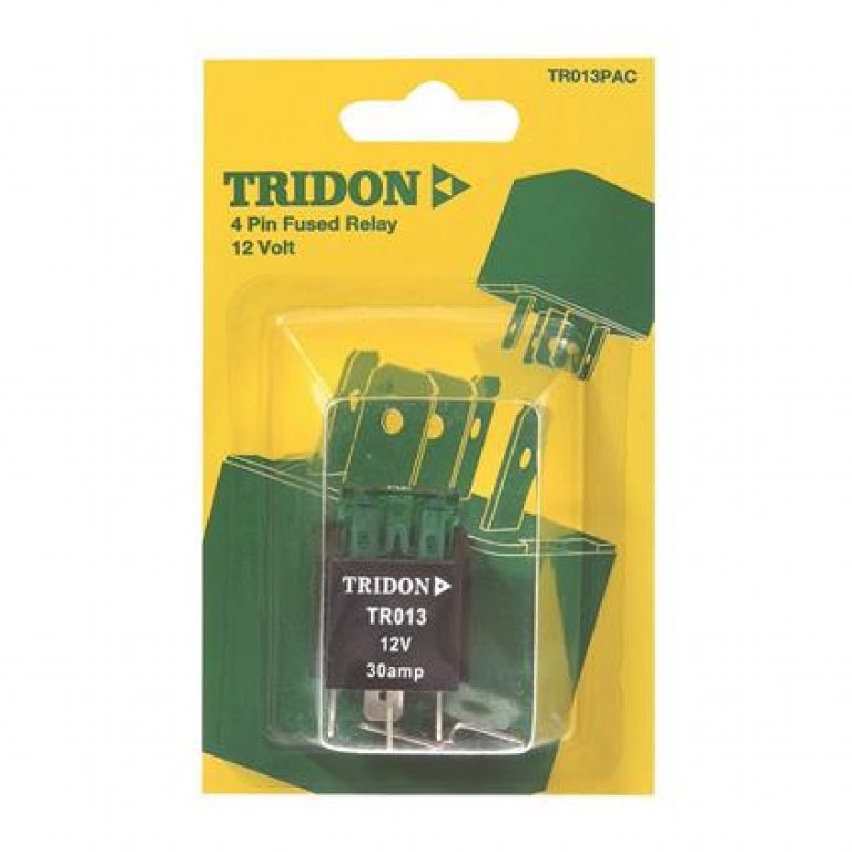 Tridon Mini Relay - 30 AMP, 4 PIN