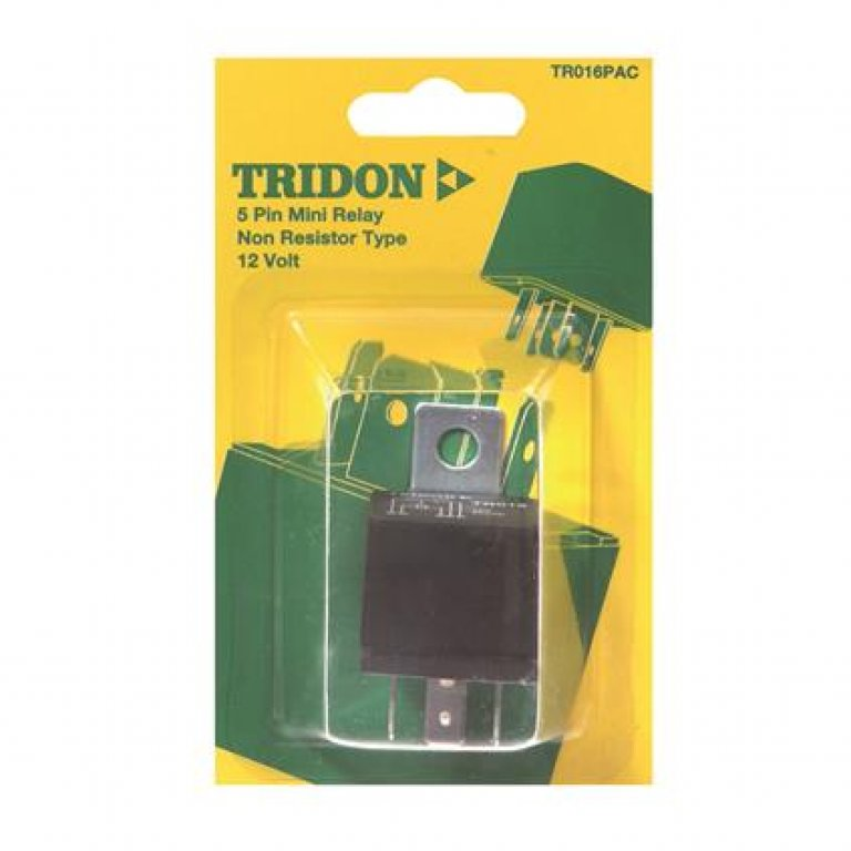 Tridon Mini Relay - 30 AMP, 5 PIN