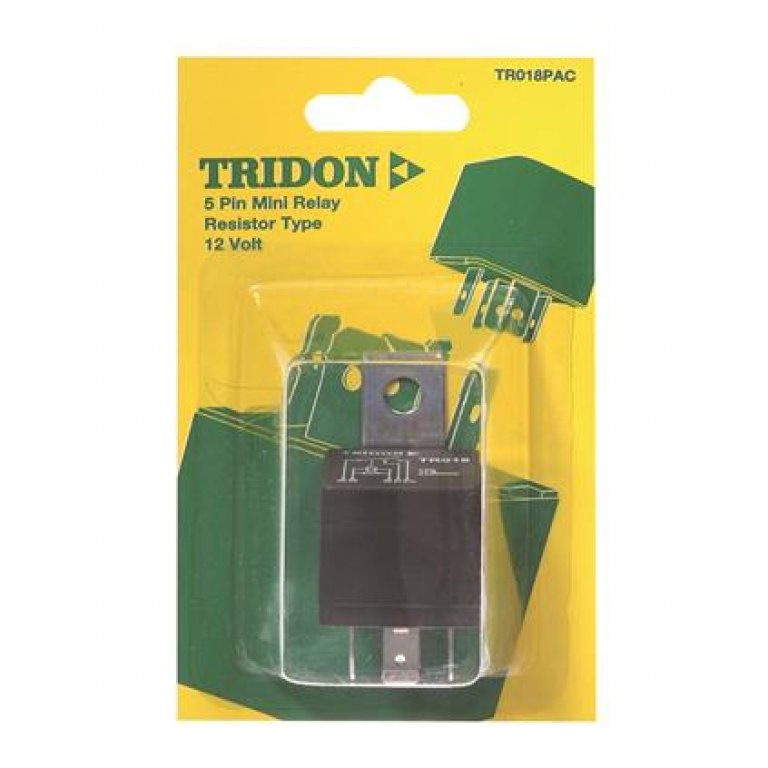 Tridon Mini Relay - 40 AMP, 5 PIN