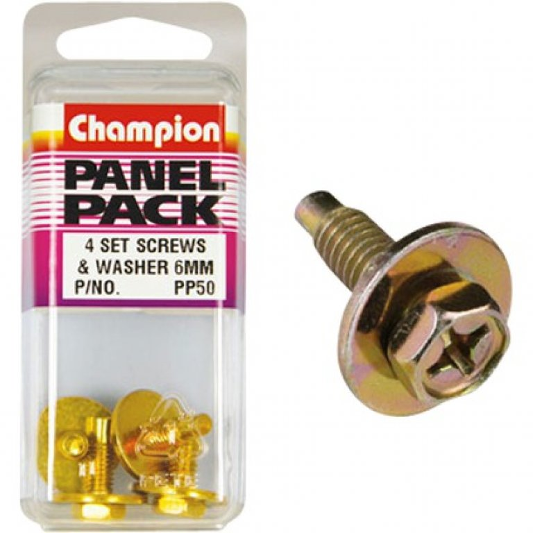 Champion HEX SELF Tapping Screw - M16 X 18, PP50, Panel PACK