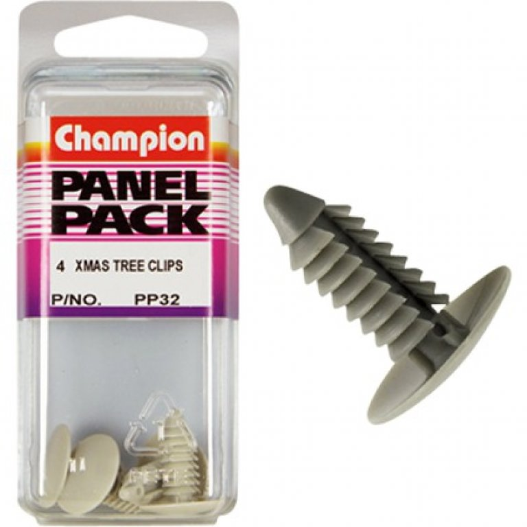Champion Xmas TREE Clips - PP32, Panel PACK