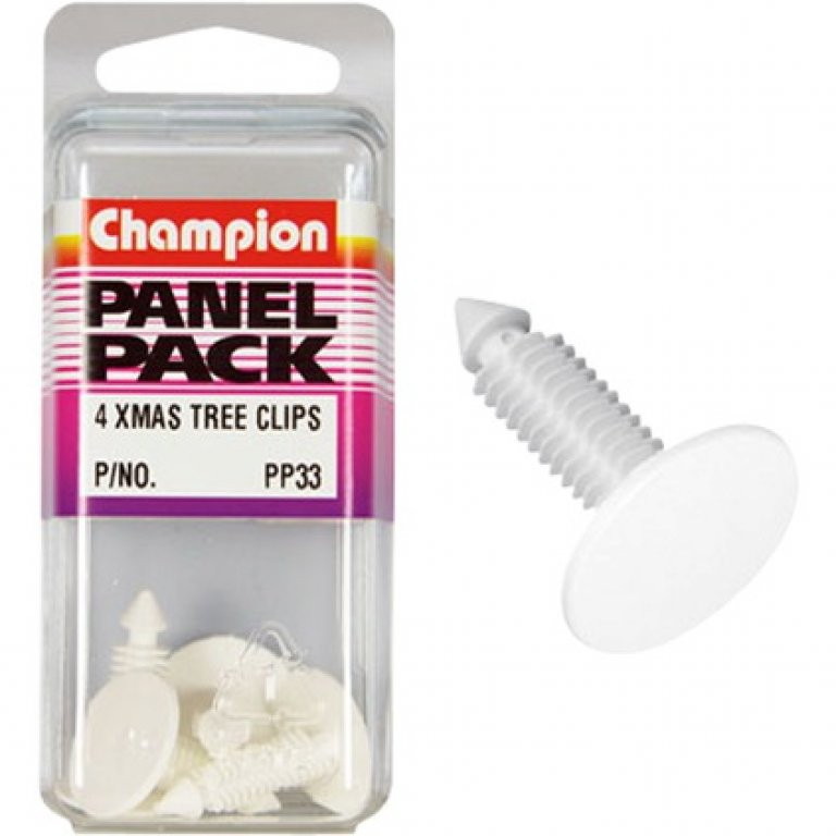 Champion Xmas TREE Clips - PP33, Panel PACK