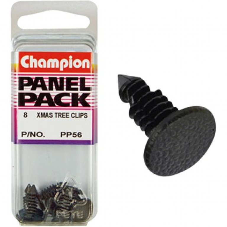 Champion Xmas TREE Clips - PP56, Panel PACK