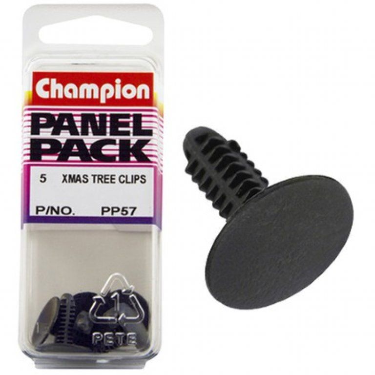 Champion Xmas TREE Clips - PP57, Panel PACK
