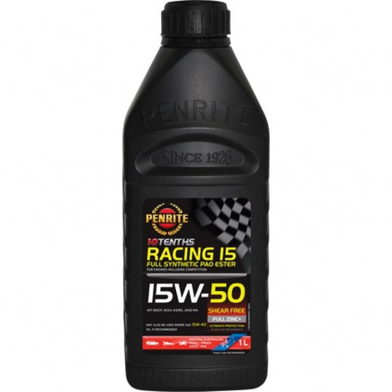 Penrite 10 Tenths Racing 15 Engine Oil - 15W-50 1 Litre