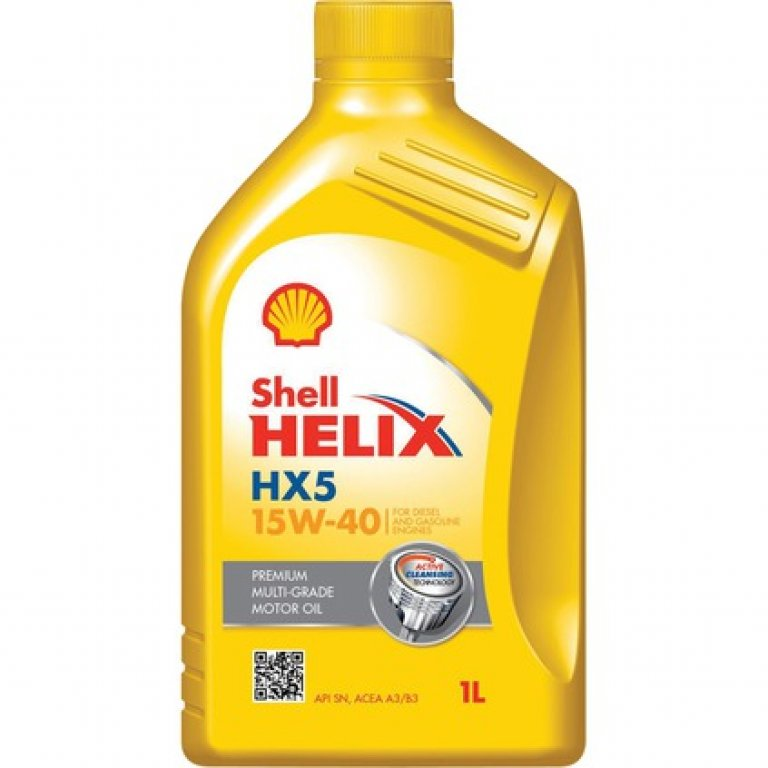 Shell Helix HX5 Engine Oil - 15W-40,, 1 Litre