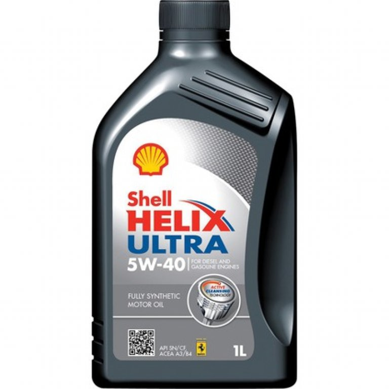 Shell Helix Ultra Engine Oil - 5W-40 1 Litre
