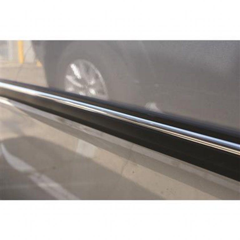 Bodyline Moulding - Bodyside, Wide, Black / Chrome, 6M