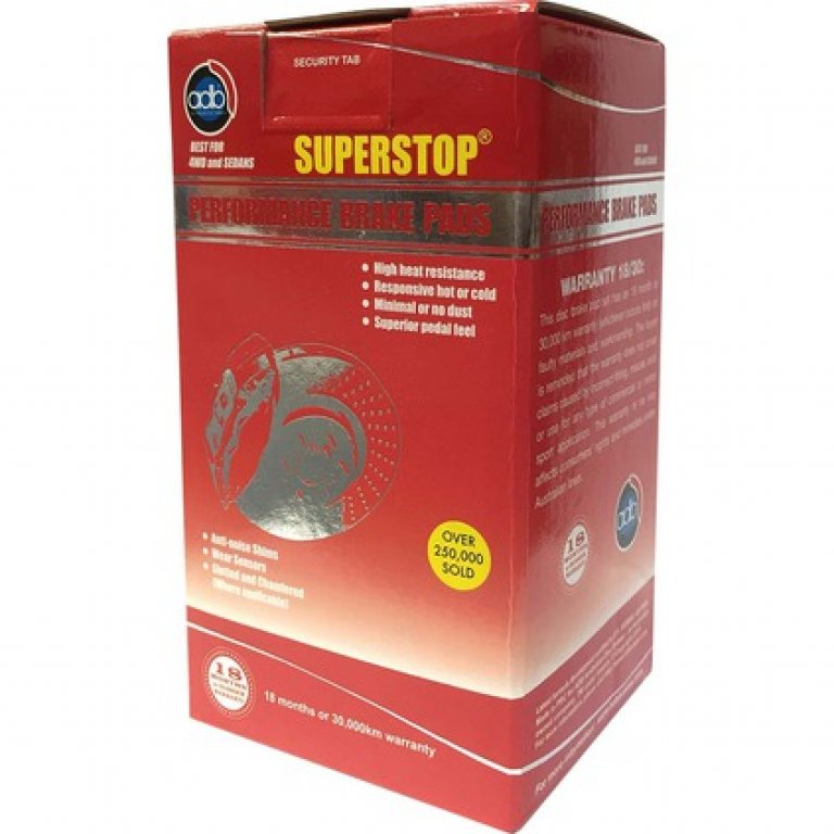 ADB Superstop DISC Brake PADS -  DB1267SS