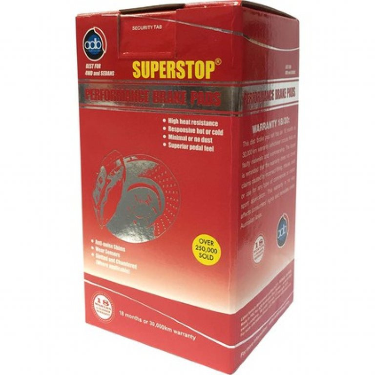ADB Superstop DISC Brake PADS - DB1766SS
