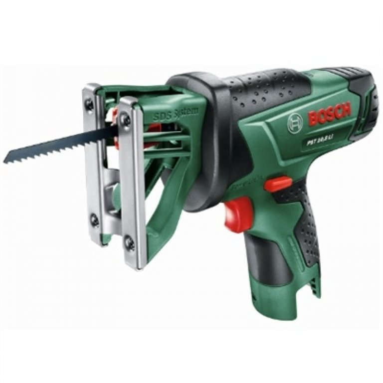 Bosch Green 10.8v Cordless Jigsaw With 1 X Battery & Charger - PST 10