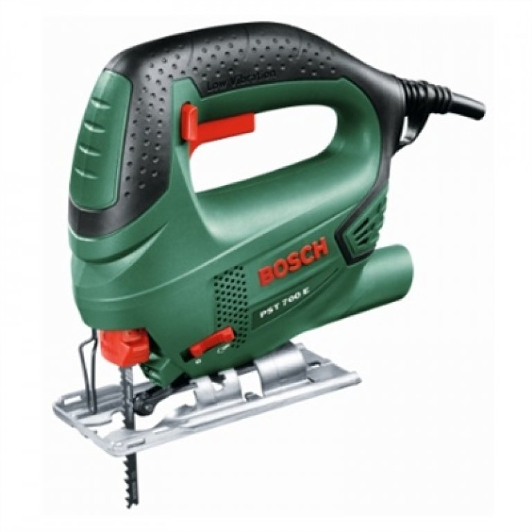 Bosch Green 500W Jigsaw With Carry CASE - PST 700 E Jigsaw