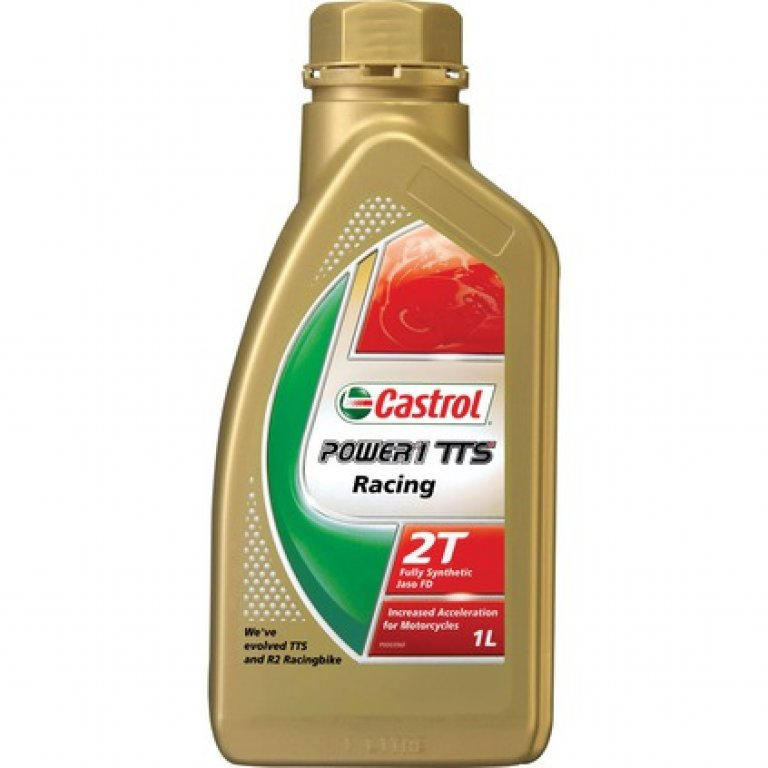 Castrol Power 1 TTS Motorcycle Oil - 1 Litre