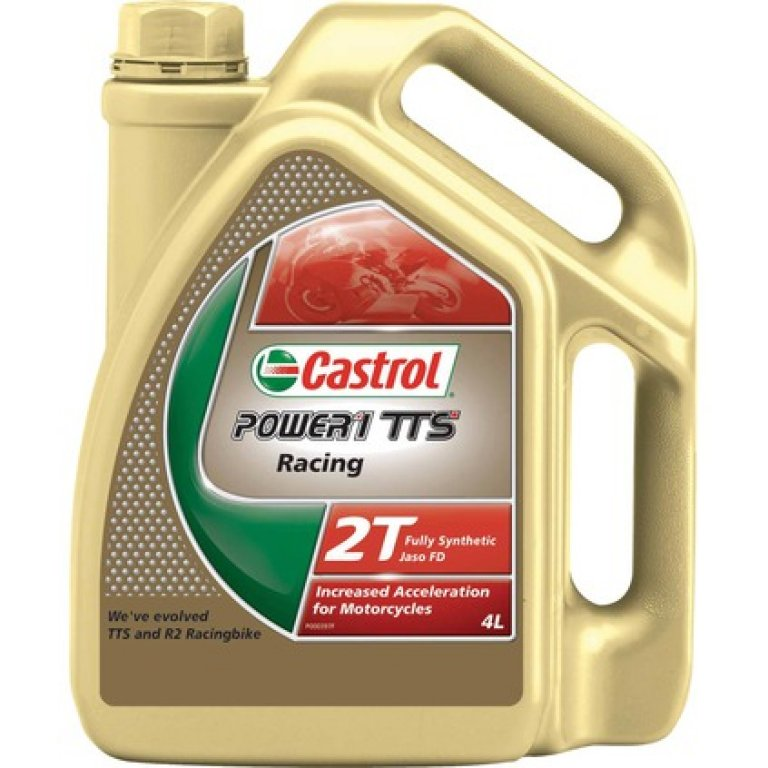 Castrol Power 1 TTS Motorcycle Oil - 4 Litre