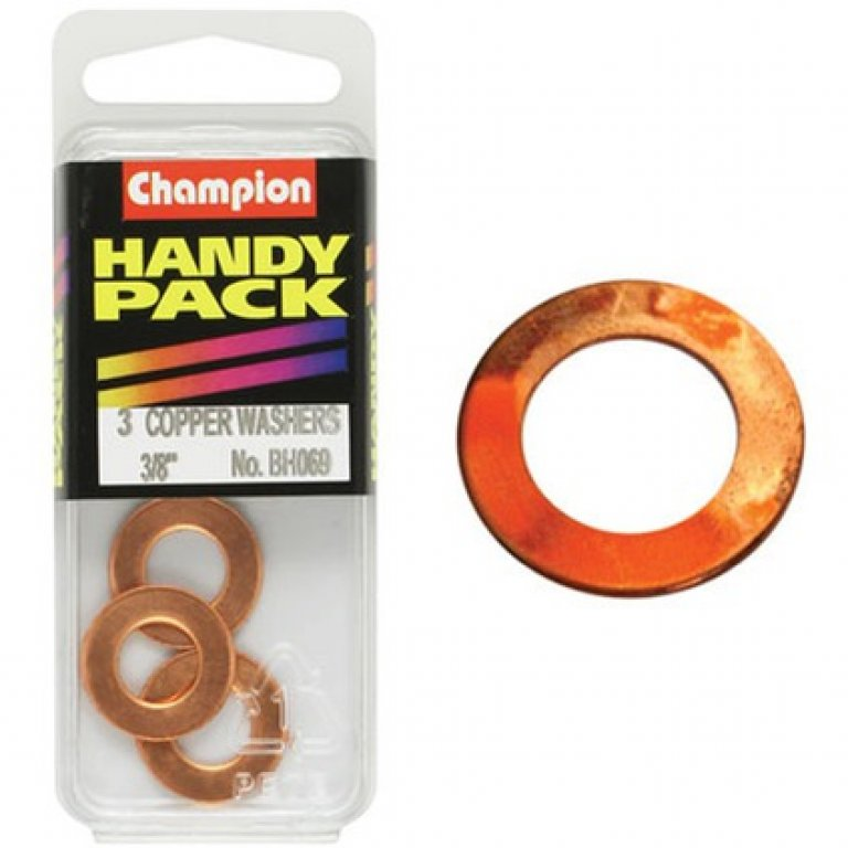 Champion Copper Washers - 3 / 8inch, BH069, Handy PACK