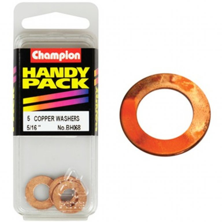 Champion Copper Washers - 5 / 16INCH, BH068, Handy PACK