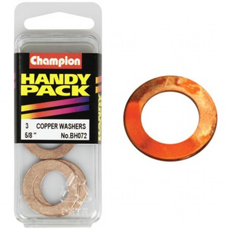 Champion Copper Washers - 5 / 8inch, Handy PACK