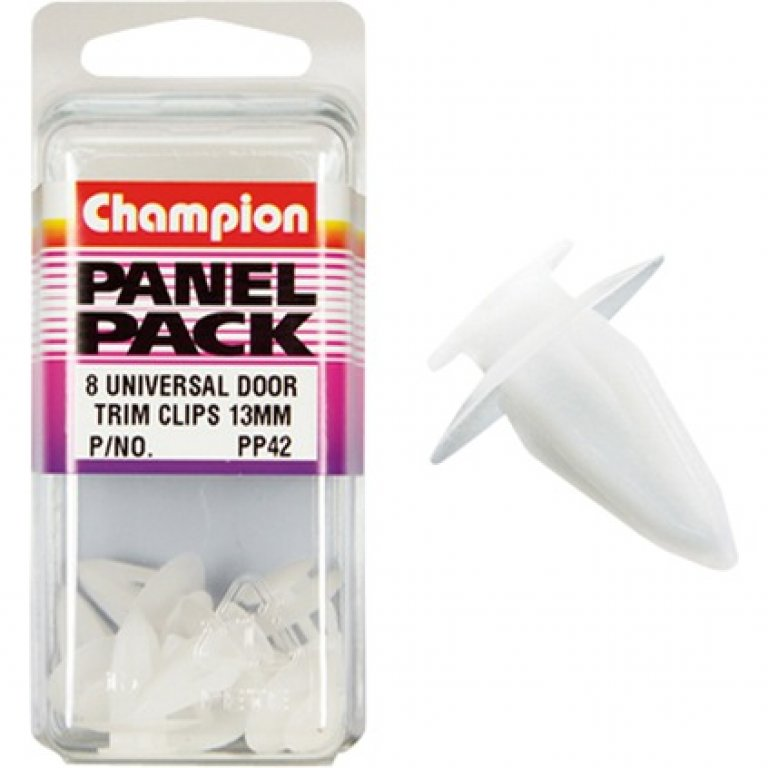 Champion Door TRIM BUSH - 13MM, PP42, Panel PACK
