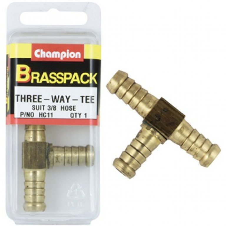 Champion HOSE Joiner - 3 / 16INCH, Brass
