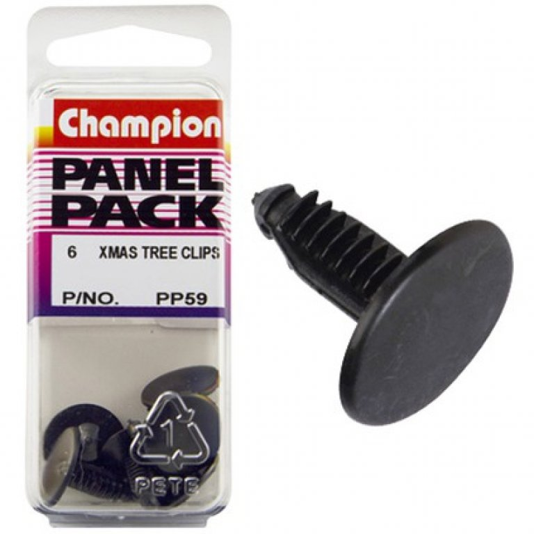 Champion Xmas TREE Clips - PP59, Panel PACK