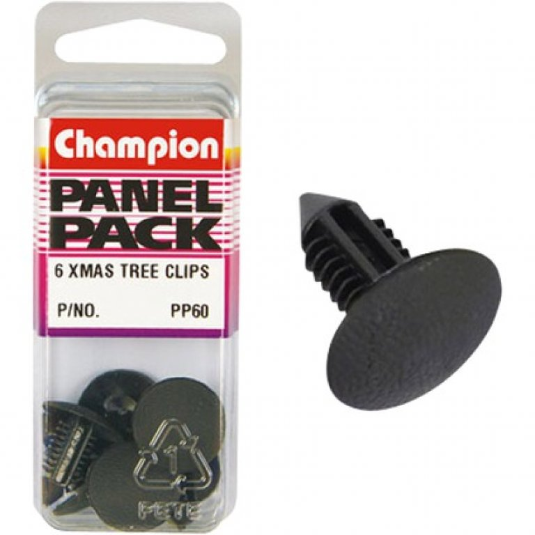 Champion Xmas TREE Clips - PP60, Panel PACK