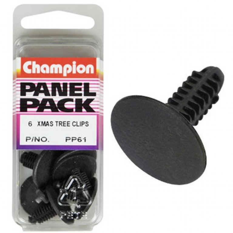 Champion Xmas TREE Clips - PP61, Panel PACK