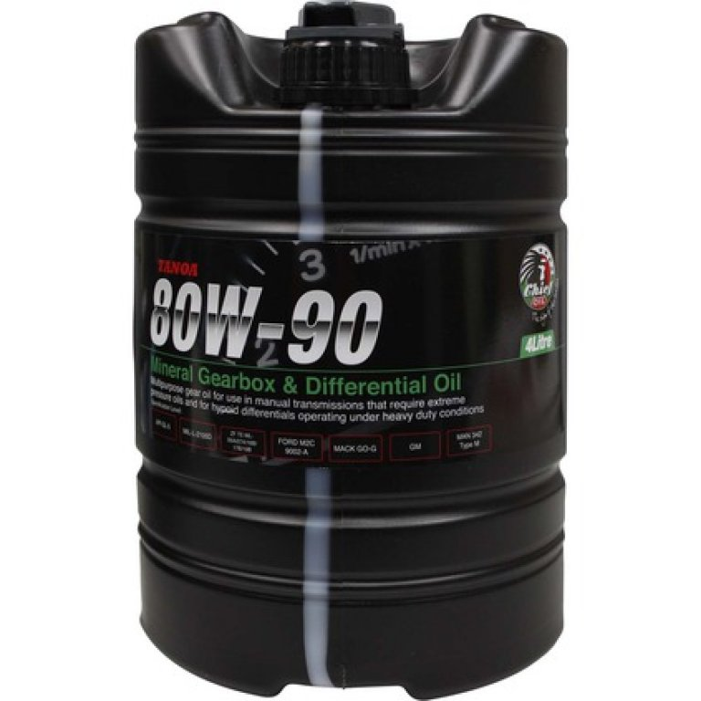 Chief Tanoa GEAR Oil - 80W-90,, 4 Litre