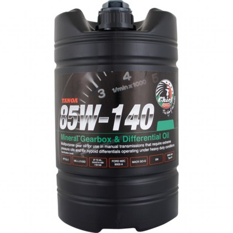 Chief Tanoa GEAR Oil - 85W-140,, 4 Litre