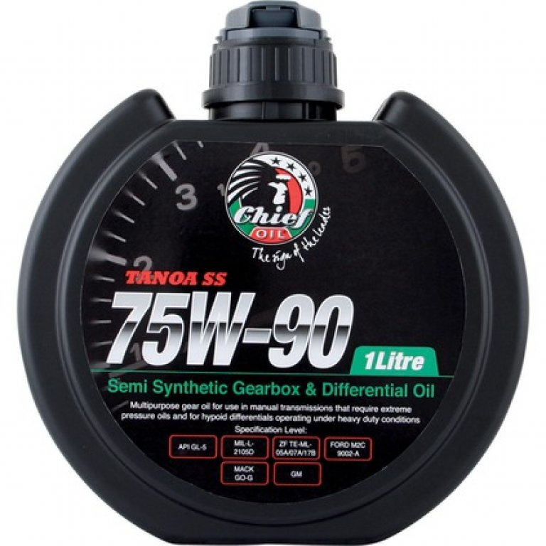 Chief Tanoa SS GEAR Oil - 75W-90,, 1 Litre