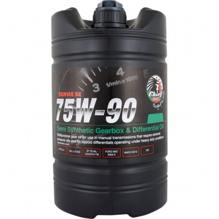Chief Tanoa SS GEAR Oil - 75W-90,, 4 Litre