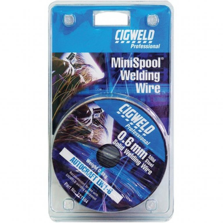 Cigweld GAS Welding Minispool MIG Wire - 0.6mm