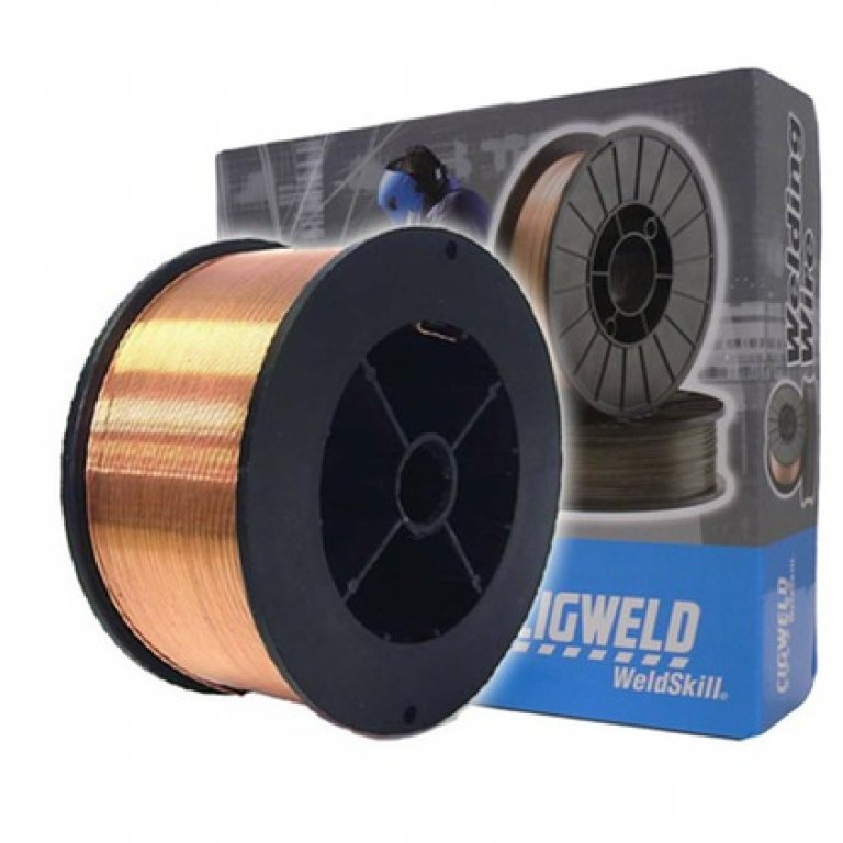 Cigweld Solid MIG Welding Wire Mini Spool - 0.9kg,  0.6mm