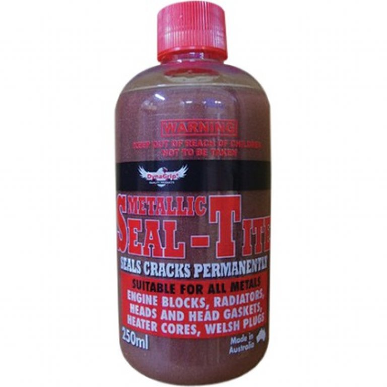 Dynagrip Metallic SEAL TITE Radiator Stop LEAK - 250ML