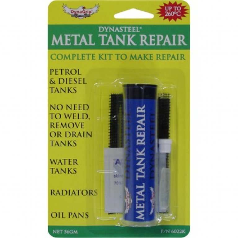 Dynagrip Quiksteel Metal Tank Repair Kit