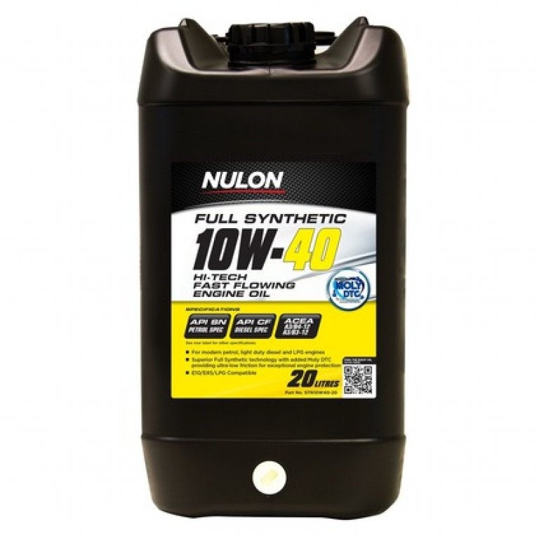 Full SYN 10W-40 10W-40-HI-TECH Fast FLOW ENG Oil - 10W-40-HI-TECH-20