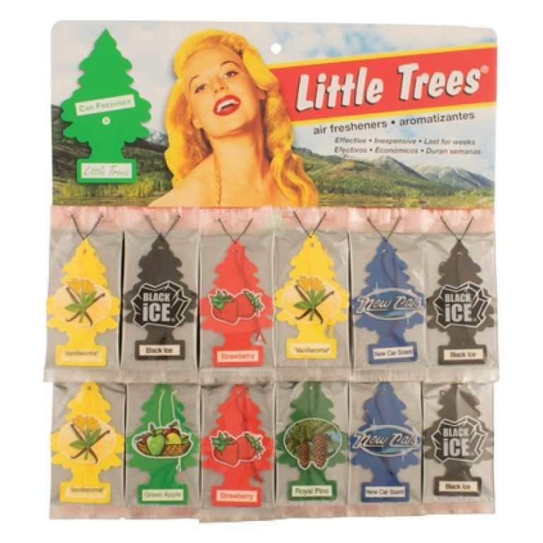 Little Trees Air Freshener Card 60 PACK - CD60