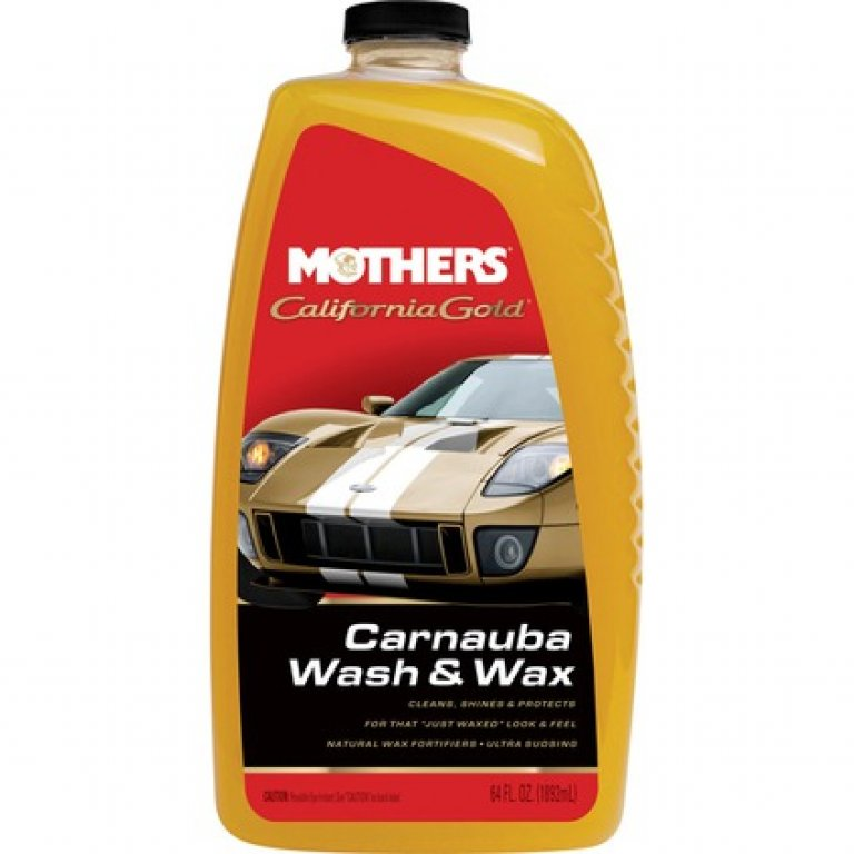 Mothers California Gold Carnauba WASH and WAX - 1.9 Litre