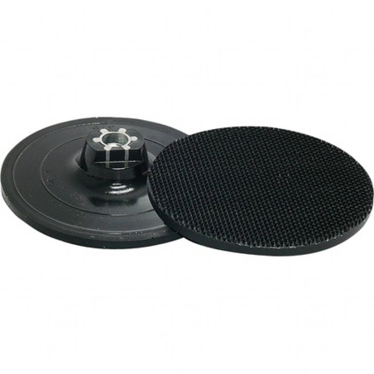 Norton Back Up Pad, HOOK and LOOP, M14 - 115MM
