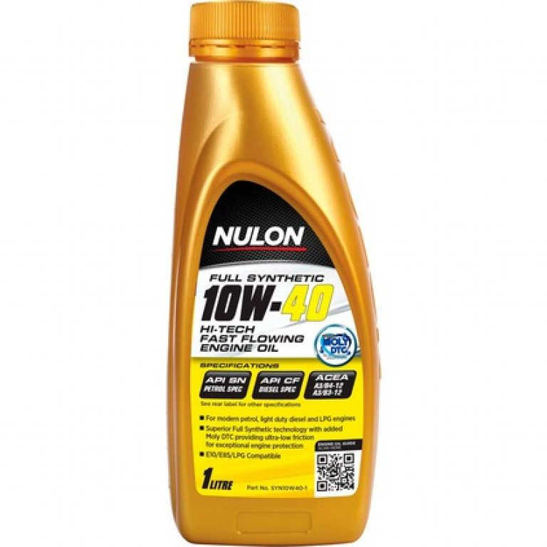Nulon HI-TECH Fast Flowing Synthetic Engine Oil - HI-TECH-10W-40 1 Litre