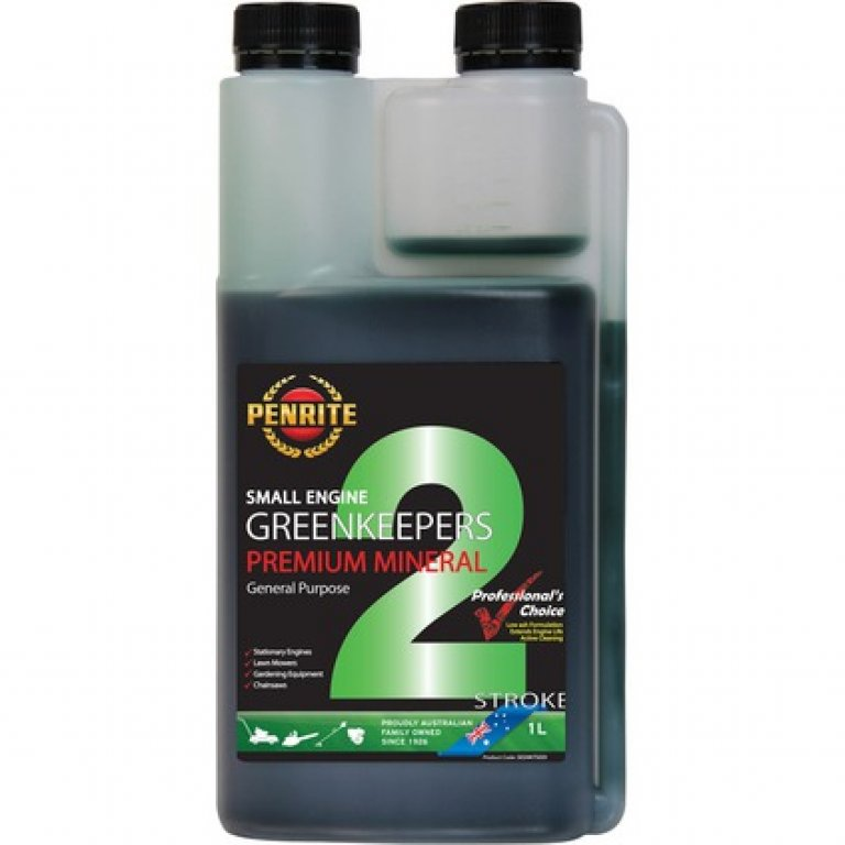 Penrite Greenkeepers 2 Stroke Lawnmower Oil - 1 Litre