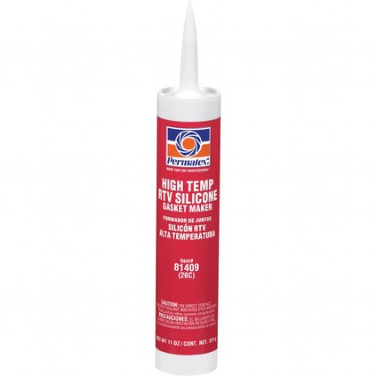 Permatex TEMP RTV Silicone Gasket Maker - Red, 311G